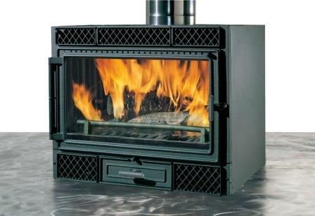 Deco légfűtéses kandalló tűztér