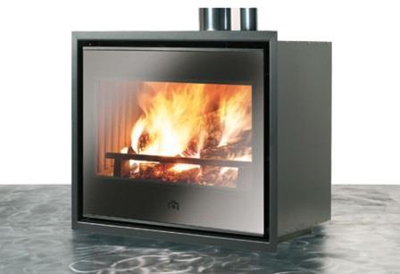 Luce Plus 54 N légfűtéses kandalló tűztér