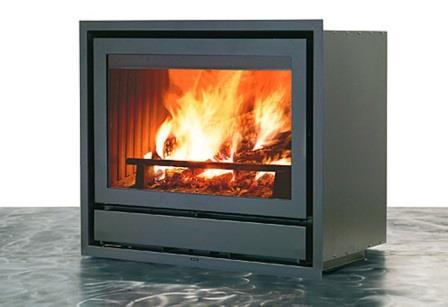 Luce 54 N légfűtéses kandalló tűztér