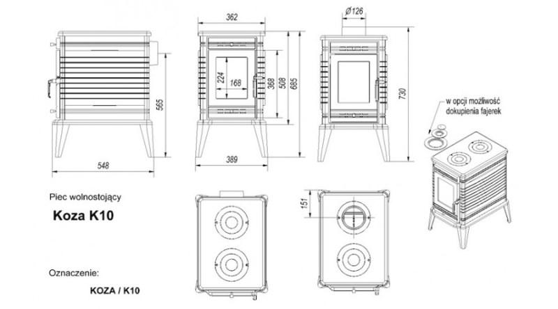 KOZA K10 Turbofan rendszerrel