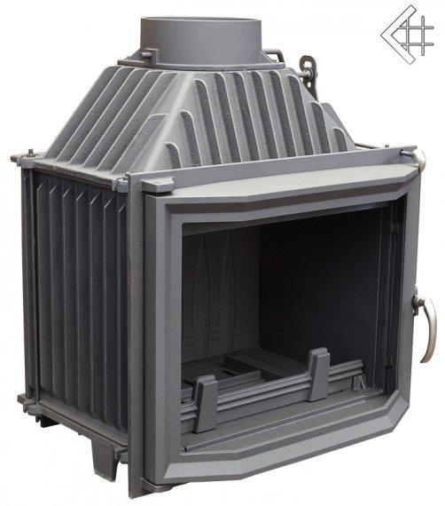 Maja prizma 12 KW - kis kéményre is 150 mm-es füstcsonkkal légfűtéses kandalló tűztér