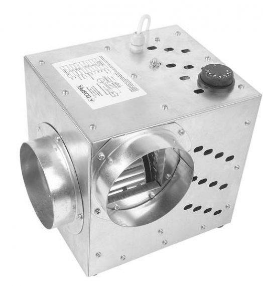 Meleglevegőszállító ventilátor 355 Lm3/h