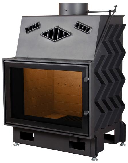 Pantech EVO 80 légfűtéses kandalló tűztér
