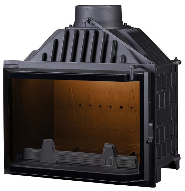 Pantherm 68 Prizma légfűtéses kandalló tűztér