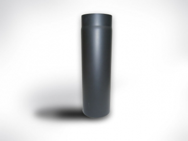 Fekete kályhacső (120) 50cm-es
