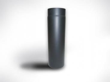 Fekete kályhacső (130)  50cm-es
