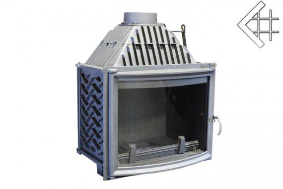 Viktory Panorama önténytűztér 26 KW légfűtéses kandalló tűztér