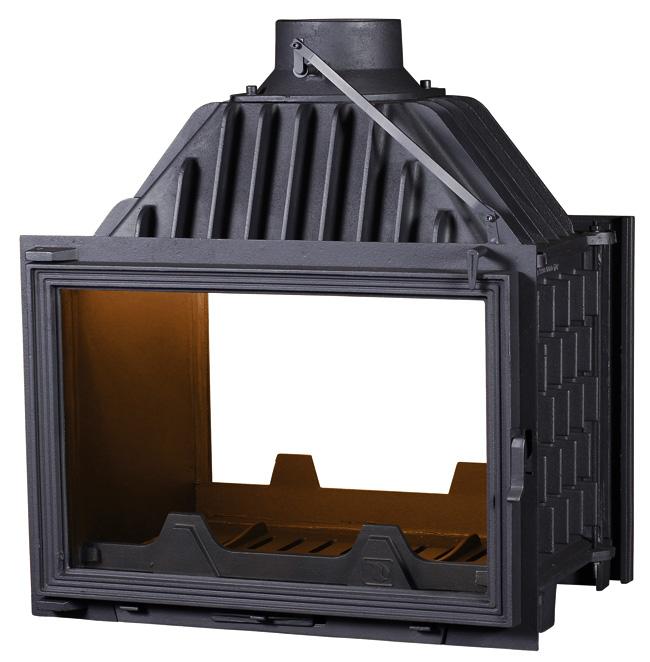 Pantherm 68 2 ajtós légfűtéses kandalló tűztér