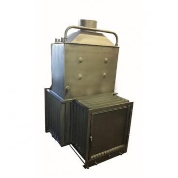 2AB K13 vízteres kétajtós hátsó tüzelőajtós kandalló betét