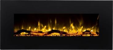 Alíz villany tűztér fekete több méretben